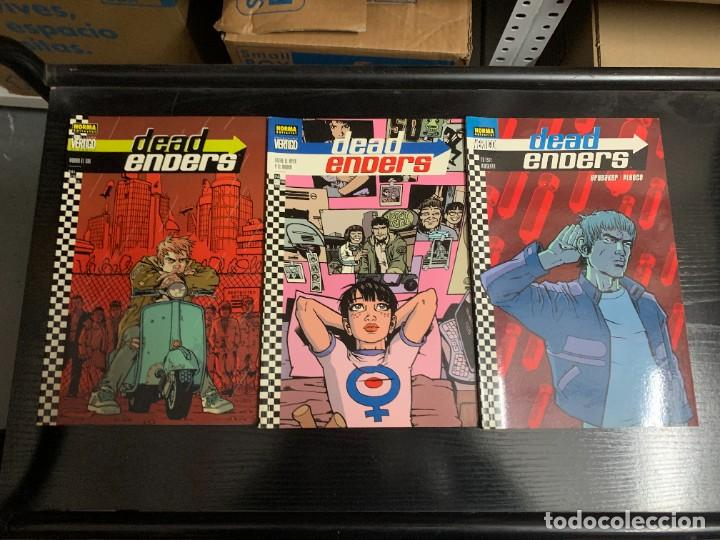 DEADENDERS, DE ED BRUBAKER Y WARREN PLEECE. COMPLETA. 3 PRESTIGIOS (Tebeos y Comics - Norma - Comic USA)