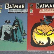Cómics: BATMAN EL LARGO HALLOWEEN COMPLETA 7 COMICS NORMA EDITORIAL VID JEPH LOEB TIM SALE. Lote 255482260