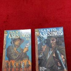 Cómics: EL SANTO DE LOS ASESINOS ESPECIAL PREDICADOR,NORMA EDITORIAL COLECCION VERTIGO 2 COMIC COMPLETA. Lote 255509920