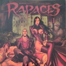 Cómics: CÓMIC RAPACES #1-4. Lote 255541450