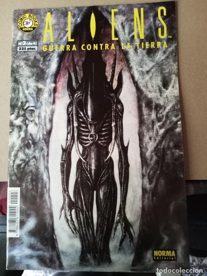 ALIENS -GUERRA CONTRA LA TIERRA - N 3 -EDITORIAL NORMA (Tebeos y Comics - Norma - Otros)