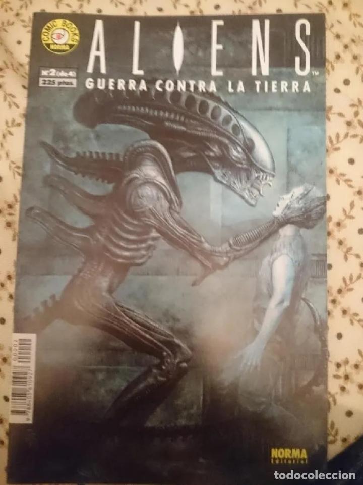 ALIENS -GUERRA CONTRA LA TIERRA - N 2 -EDITORIAL NORMA (Tebeos y Comics - Norma - Otros)
