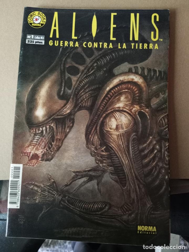 ALIENS -GUERRA CONTRA LA TIERRA - N 1 -EDITORIAL NORMA (Tebeos y Comics - Norma - Otros)