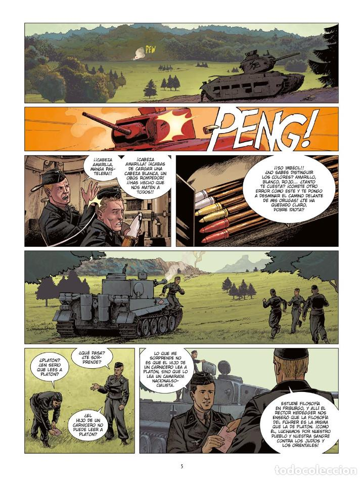 Cómics: Cómics. KRIEG MACHINE - Jean-Pierre Pécau / Mavric / Anddronik (Cartoné) - Foto 4 - 257639925