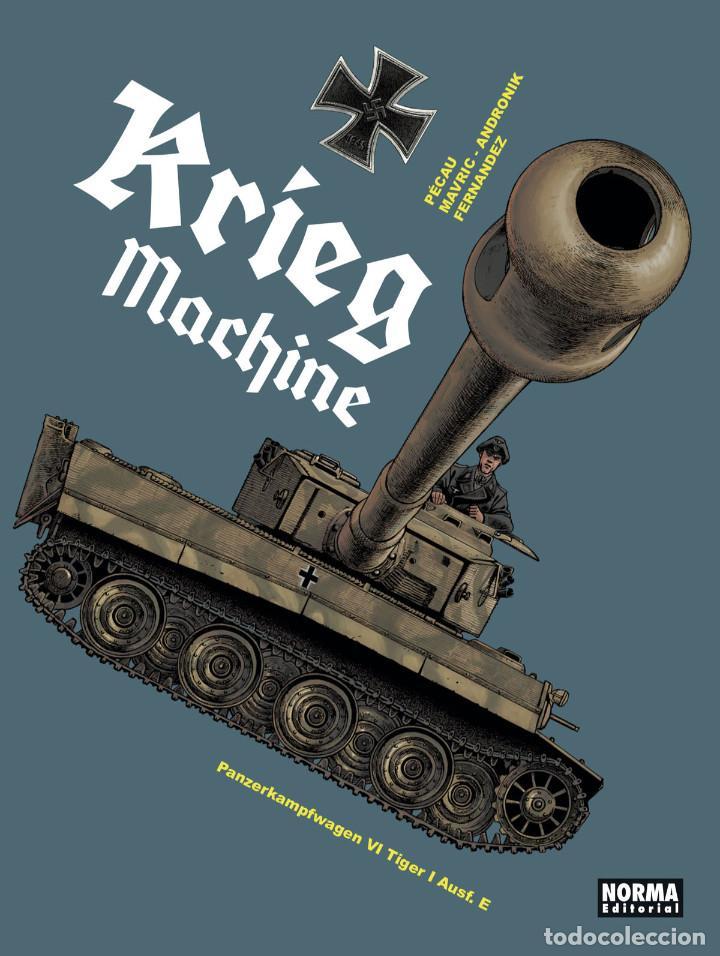 CÓMICS. KRIEG MACHINE - JEAN-PIERRE PÉCAU / MAVRIC / ANDDRONIK (CARTONÉ) (Tebeos y Comics - Norma - Comic Europeo)