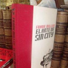 Cómics: EL ARTE DE SIN CITY FRANK MILLER ED. NORMA 2003. Lote 257669245