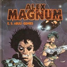Comics: ALEX MAGNUM. ENRIQUE SANCHEZ ABULI AUTOR DE TORPEDO.INTEGRAL. TAPA DURA. 200 PAGINAS APROXIMADAMENTE. Lote 257678245