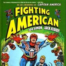 Cómics: JACK KIRBY. FIGHTING AMERICAN. .INTEGRAL. TAPA DURA. 200 PAGINAS . KRAKEN. Lote 257680245