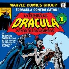Cómics: LA TUMBA DE DRACULA. GENE COLAN MARV WOLFMAN. COLECCION COMPLETA. 10 TOMOS. TAPA DURA. PANINI. Lote 257681375
