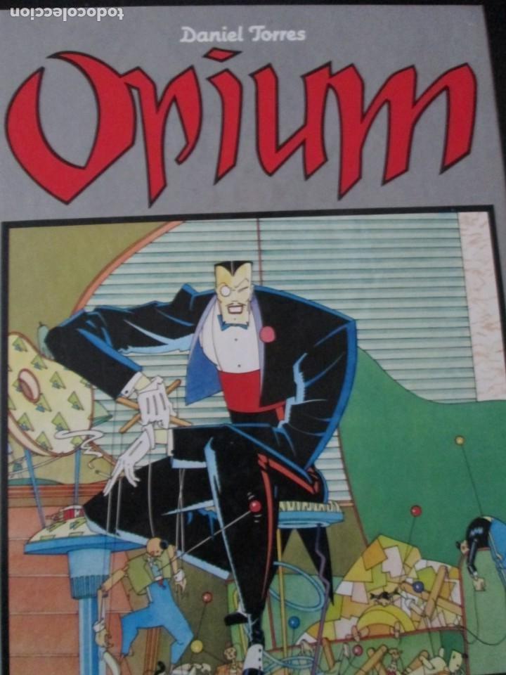 DANIEL TORRES--OPIUM (Tebeos y Comics - Norma - Comic Europeo)