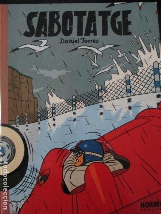 DANIEL TORRES--SABOTATGE (Tebeos y Comics - Norma - Comic Europeo)