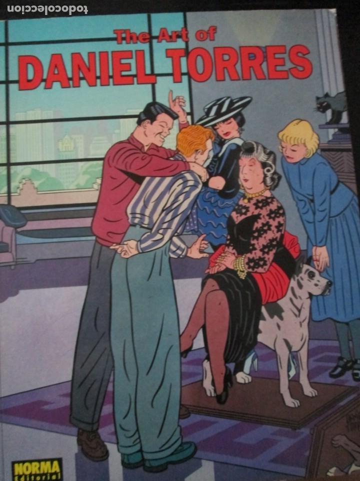 DANIEL TORRES--THE ART OF DANIEL TORRES (Tebeos y Comics - Norma - Comic Europeo)