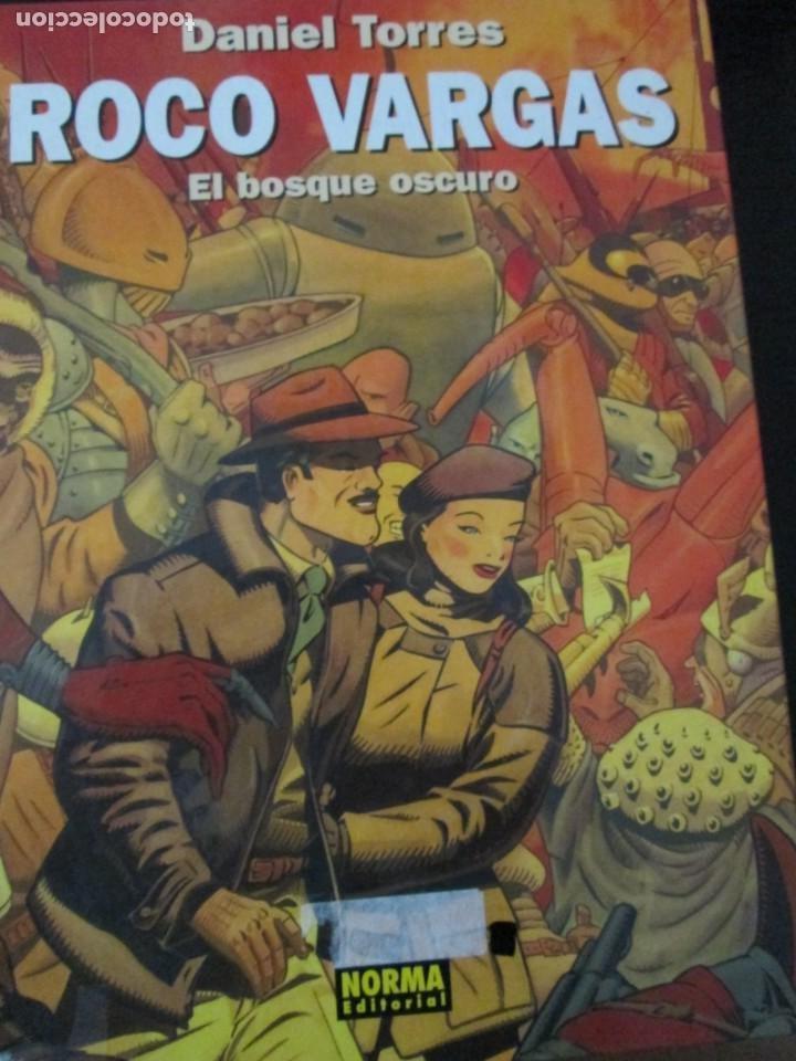 DANIEL TORRES--ROCO VARGAS-EL BOSQUE OSCURO (Tebeos y Comics - Norma - Comic Europeo)