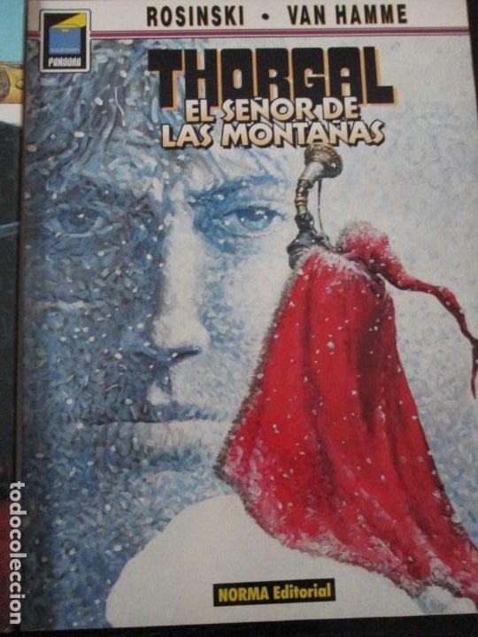 THORGAL-- EL SEÑOR DE LAS MONTAÑAS-ROSINSKI -VAN HAMME (Tebeos y Comics - Norma - Comic Europeo)
