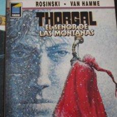 Cómics: THORGAL-- EL SEÑOR DE LAS MONTAÑAS-ROSINSKI -VAN HAMME. Lote 257709255