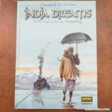 Cómics: INDIA DREAMS 4. NO HAY NADA EN DARJEELING. MARYSE & J.F. CHARLES. NORMA EDITORIAL. Lote 257823180