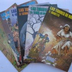 Cómics: LAS TORRES DE BOIS-MAURY - HERMANN - 6 NÚMEROS - DEL 1 AL 6 - CIMOC EXTRA COLOR - NORMA EDITORIAL.. Lote 257837210
