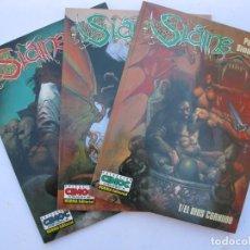 Cómics: SLAINE - PAT MILLS & SIMON BISLEY - 3 NÚMEROS - DEL 1 AL 3 - CIMOC EXTRA COLOR - NORMA EDITORIAL.. Lote 257841490
