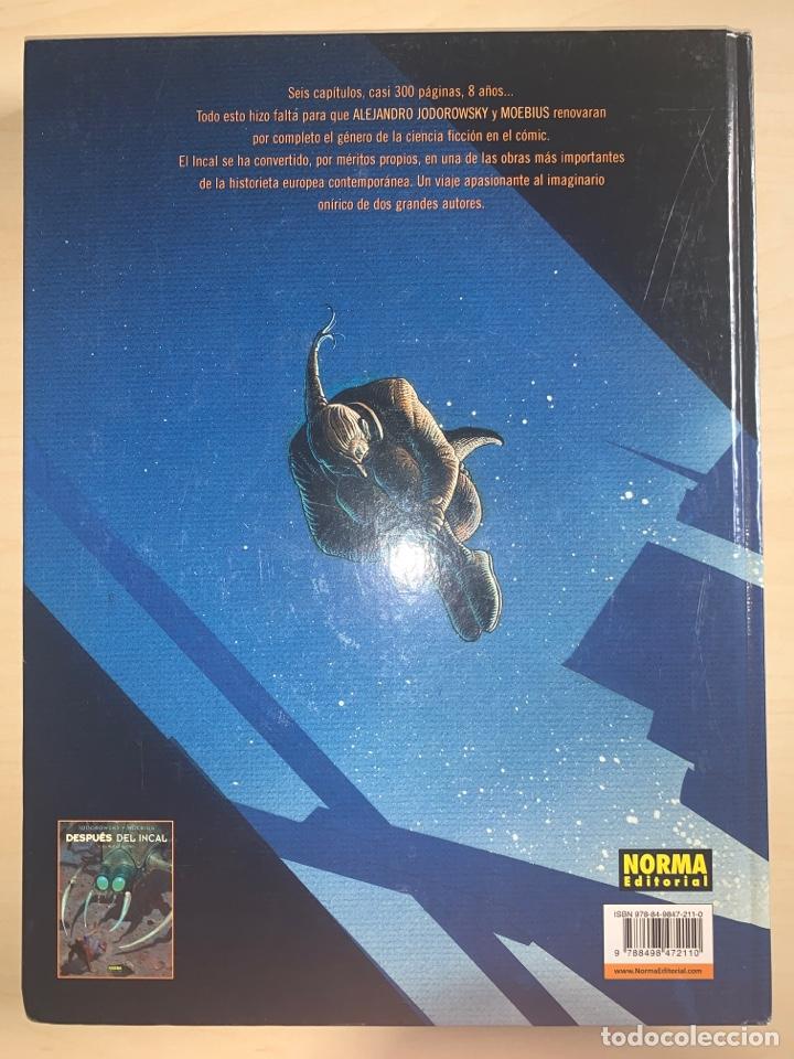 Cómics: El incal. Alejandro Jodorowsky-Moebius. Edición definitiva. NORMA Editorial. - Foto 2 - 258005160