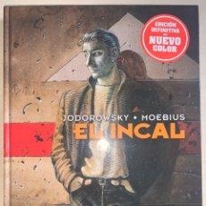 Cómics: EL INCAL. ALEJANDRO JODOROWSKY-MOEBIUS. EDICIÓN DEFINITIVA. NORMA EDITORIAL.. Lote 258005160