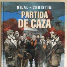 Cómics: COLECCIÓN ENKI BILAL N°11 | PARTIDA DE CAZA | 1° EDICIÓN 2005. Lote 258021885