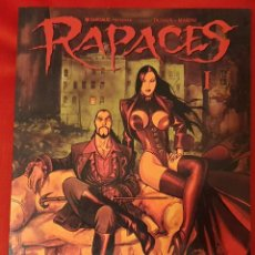 Cómics: RAPACES - DUFAUX - MARINI - NORMA EXTRA COLOR 162. Lote 258183560