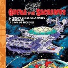 Cómics: QUENA Y EL SACRAMUS. DOLMEN. TOMOS 1 AL 5. TAPA DURA COLECCION FUERA BORDA. Lote 258500070