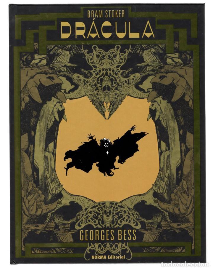 DRÁCULA DE GEORGES BESS - NORMA / EDICIÓN ESPECIAL EN BLANCO Y NEGRO / COMIC EUROPEO / TAPA DURA (Tebeos y Comics - Norma - Comic Europeo)
