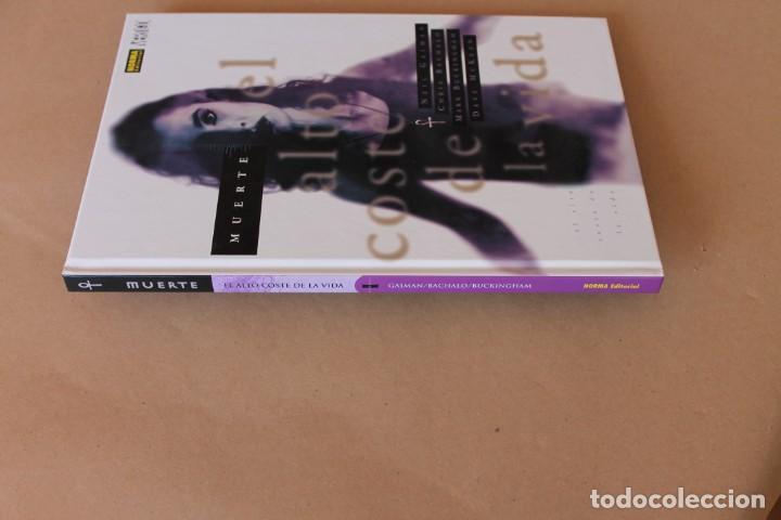 Cómics: MUERTE - El alto coste de la vida - Neil Gaiman – NORMA Ed, cartoné - NUEVO - Foto 2 - 270687293