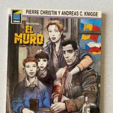 Cómics: EL MURO COLECCION PANDORA #4 EN ESTADO IMPECABLE NORMA. Lote 259300540