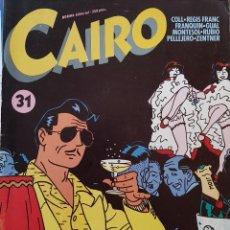 Cómics: CAIRO 31. Lote 259308145