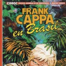 Cómics: FRANK CAPPA EN BRASIL (MANFRED SOMMER) NORMA - OFM15. Lote 260089665