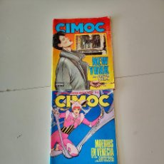 Cómics: 2 COMICS CIMOC EDITORIAL NORMA REVISTA DE LAS GRANDES SERIES DE AVENTURAS TEBEO 1983. Lote 260865360