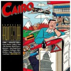 Cómics: CAIRO ESPECIAL ARQUITECTURA. NORMA 1984. EXCELENTE.. Lote 261112945