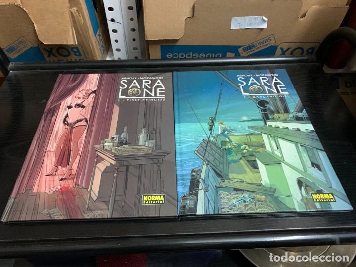 SARA LONE T1 Y T2, DE ERIK ARNOUX Y DAVID MORANCHO (Tebeos y Comics - Norma - Comic Europeo)