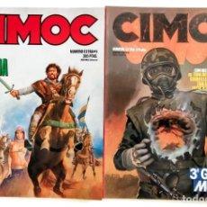 Cómics: 2 COMICS CIMOC - ESPECIAL HISTORIA - 3ª GUERRA MUNDIAL - NORMA EDITORIAL - COMO NUEVOS. Lote 261243585