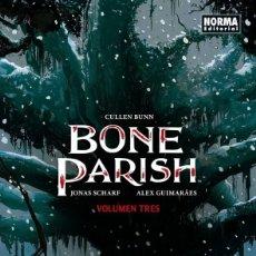 Comics: BONE PARISH. OBRA COMPLETA: 3 TOMOS. NORMA EDITORIAL. 340 PAGINAS. TERRORÍFICO THRILLER. Lote 261943495