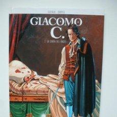Cómics: GIACOMO C 2. LA CAÍDA DEL ÁNGEL. DUFAUX - GRIFFO. NORMA EDITORIAL. PRIMERA EDICIÓN. Lote 262036630
