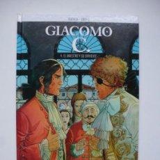 Cómics: GIACOMO C 4. EL MAESTRO Y SU SIRVIENTE. DUFAUX - GRIFFO. NORMA EDITORIAL. PRIMERA EDICIÓN. Lote 262036945