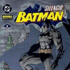 Cómics: BATMAN SILENCIO. OBRA COMPLETA: 5 TOMOS. JEPH LOEB JIM LEE. NORMA. Lote 262210030
