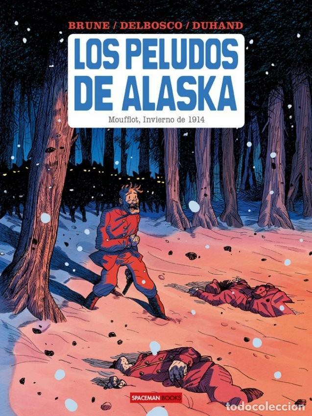 LOS PELUDOS DE ALASKA. ECC. SPACEMAN. TAPA DURA. (Tebeos y Comics - Norma - Comic Europeo)