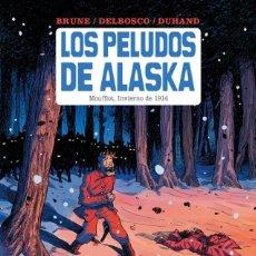 Cómics: LOS PELUDOS DE ALASKA. ECC. SPACEMAN. TAPA DURA.. Lote 262290245