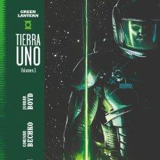 Cómics: GREEN LANTERN. TIERRA UNO. 2 TOMOS. ECC TAPA DURA. 288 PAGINAS. Lote 262291990