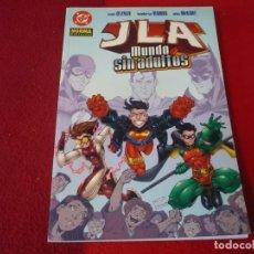 Cómics: JLA UN MUNDO SIN ADULTOS ( DEZAGO HUMBERTO RAMOS) ¡MUY BUEN ESTADO! NORMA DC JOVENES TITANES. Lote 262355115