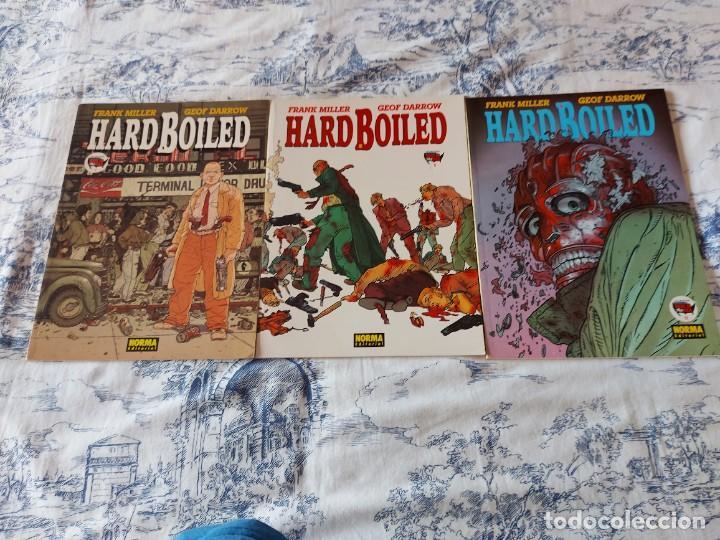 HARD BOILED FRANK MLLLER GEOF DARROW TRES ALBUMES (Tebeos y Comics - Norma - Comic USA)
