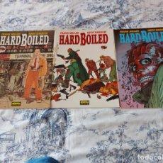 Comics: HARD BOILED FRANK MLLLER GEOF DARROW TRES ALBUMES. Lote 262922135