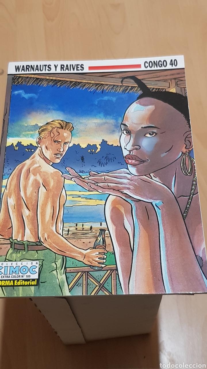 WARNAUTS Y RAIVES - CONGO 40 COLECCION CIMOC N°109 NORMA EDITORIAL (Tebeos y Comics - Norma - Cimoc)
