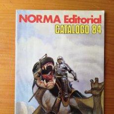 Cómics: CATALOGO NORMA COMICS 84 1984 EN MUY BUEN ESTADO CIMOC. Lote 263092425