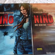 Cómics: EL NIÑO TOMOS 1 Y 2 PERRISIN & PAVLOVIC. Lote 263106790