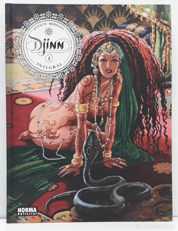 DJINN, INTEGRAL 1, CICLO OTOMANO (NORMA EDITORIAL, 2020) (Tebeos y Comics - Norma - Comic Europeo)